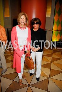 Susan Benett, Tina Karalenkas  Photo by Kyle Samperton