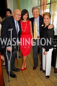 John Dingell, Beth Dozoretz, Stuart Bernstein, Wilma Bernstein  Photo by Kyle Samperton