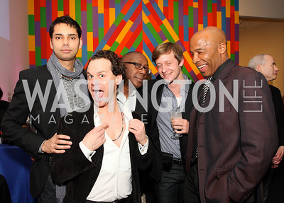 rajendra roy, james alefantis, cornelius baker, sam paschall, marc ohrem,  Photo by Tony Powell
