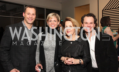 LJ Alefantis, Shari Dow, Susan Alefantis, James Alefantis,  Photo by Tony Powell