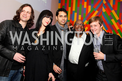 adrian hierholzer, kristina mazzocchi, rajendra roy, cornelius baker, sam paschall,  Photo by Tony Powell