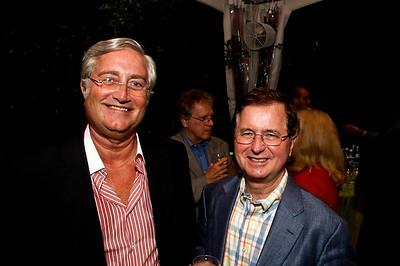 John Sullivan, Bob Hemphill. Goodbye Summer, Hello Fall. September 12, 2009. Photos by Betsy Spruill Clarke.