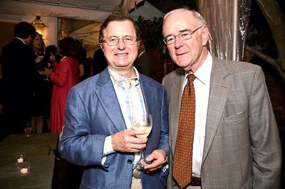 Bob Hemphill, Charles Manatt. Goodbye Summer, Hello Fall. September 12, 2009. Photos by Betsy Spruill Clarke.
