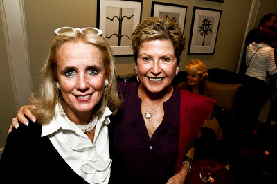 Debbie Dingell, The Hon. Ann Brown. Goodbye Summer, Hello Fall. September 12, 2009. Photos by Betsy Spruill Clarke.