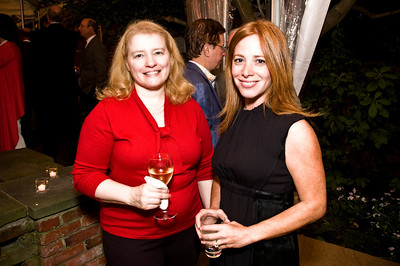 Linda Powers, Andrea Kaufman. Goodbye Summer, Hello Fall. September 12, 2009. Photos by Betsy Spruill Clarke.