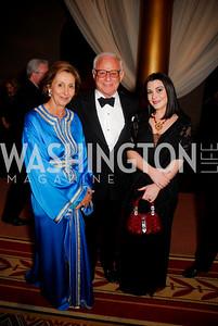 Marie Felice Merkour, John Mason, Jacqueline Mason.  Photograph by Kyle Samperton