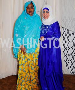 Amina Olhaye, Hanan Hasan.  Photograph by Kyle Samperton