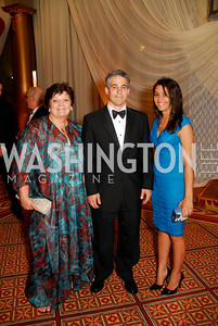 Kathy Hamdy, Marvin Schoreder, Mariam Rouf.  Photograph by Kyle Samperton