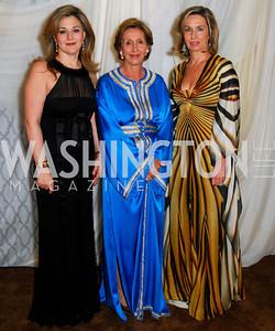 Nicole Chedid, Marie Felice Mekaour, Chretien Desmarais.  Photograph by Kyle Samperton