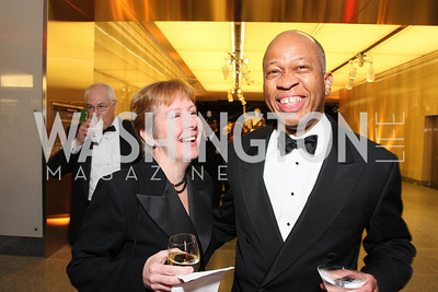 linda young, david patterson,  Photo by Tony Powell