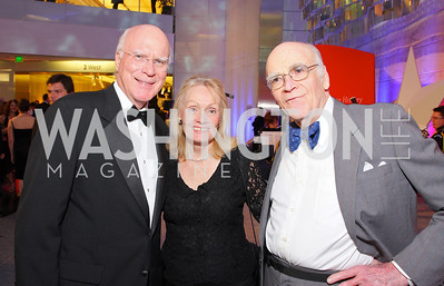 pat leahy,  marcelle leahy, roger kennedy,  Photo by Tony Powell