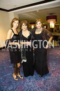 Aram Itani, Aghi Ghovanlou, Mojgan Vojdaani. NIAF Youth Gala. Hilton. October 24, 2009. Photos by Betsy Spruill Clarke.