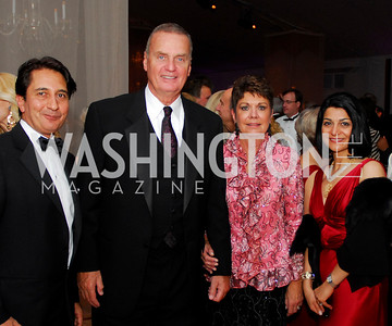 Kyle Samperton,September 26,2009,NSO Gala,Amb.Said Jawad,Gen.James Jones,Diane Jones,Shamim Jawad