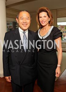 Ichiro Fujisaki, Nancy Brinker,