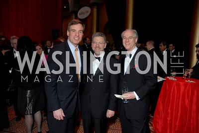 Mark Warner, Harry Johns, George Vradenburg Photo by Kyle Samperton