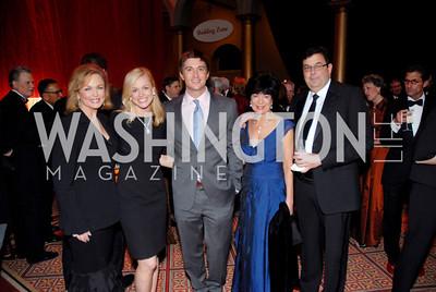 Phyllis George, Pamela Brown, Jon Jefferies, Phyllis Preston, Bob Comeau Photo by Kyle Samperton