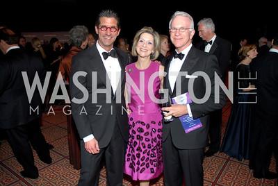 Marc Lefkowitz, Beth Glassman, Amb. James Glassman Photo by Kyle Samperton