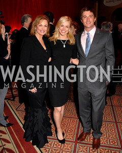 Phyllis George, Pamela Brown, Jon Jefferies Photo by Kyle Samperton
