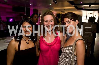 Minal Damani, Kate Palmer, Madeleine Starkey, Photograph by Betsy Spruill Clarke