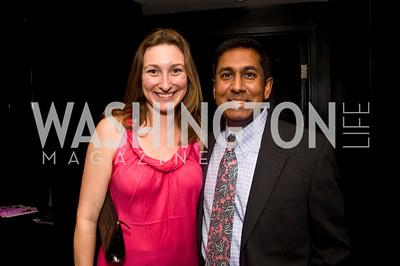 Aditya Bhatnagar, Kate Palmer, Photograph by Betsy Spruill Clarke