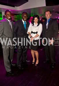 Matt Dolesh, Courtney Olujobi, Gary Goodman, Carolyn Laurenzano, Photograph by Betsy Spruill Clarke