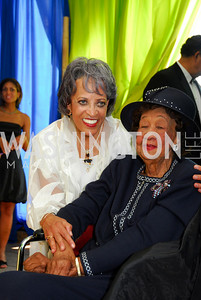 Johnetta Betsch Cole; Dorothy Height;