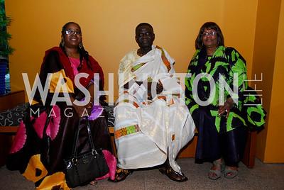 Akua Kouyate; Kwaku Ofori-Ansa; Margaret Davis;