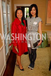 """""""Haiyan Wang"""", """"Nan Zhou"""". National Student Partnerships' Spring Celebration. May 13, 2009. Photos by Kyle Samperton."""