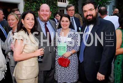 """""""Nancy Jacobson"""", """"Andrew Schwartz"""", """"Amy Goldberg"""", Rabbi """"Levi Shemtov"""". National Student Partnerships' Spring Celebration. May 13, 2009. Photos by Kyle Samperton."""