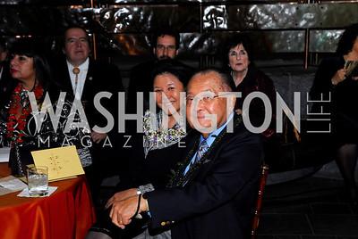 Kyle Samperton,October 7,2009,Native American Museum,Irene Inouye,Sen Daniel Inouye