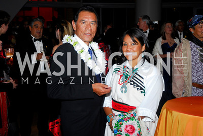 Kyle Samperton,October 7,2009,native American Museum,Wes Studi,Lucretia Williams