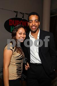 Hedy Romero and Rashad Ernesto Green. 2009 Noche de Gala. Corcoran Gallery of Art. September 15 , 2009. photos by Tony Powell