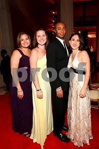 Jennifer Parsons, Elizabeth DeNoia, Adam Allen, Hilary Ashford-Ng. 2009 Noche de Gala. Corcoran Gallery of Art. September 15 , 2009. photos by Tony Powell