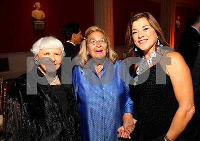 Deborah Szekely, Esther Coopersmith, Congresswoman Loretta Sanchez. 2009 Noche de Gala. Corcoran Gallery of Art. September 15 , 2009