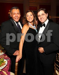 Felix Sanchez, Congresswoman Loretta Sanchez, FCC Chairman Julius Genachowski. 2009 Noche de Gala. Corcoran Gallery of Art. September 15 , 2009