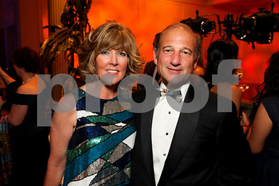 Ginny Grenham and Paul Zevnick. 2009 Noche de Gala. Corcoran Gallery of Art. September 15 , 2009. photos by Tony Powel