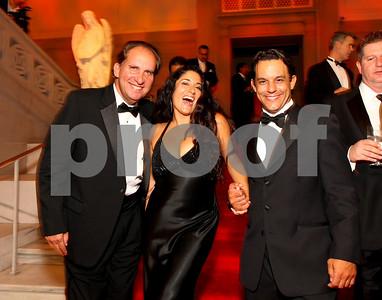 Don Grenough, Yvonne Delarosa, Henning Morales. 2009 Noche de Gala. Corcoran Gallery of Art. September 15 , 2009