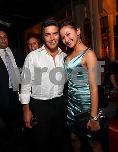 Esai Morales and Anchyi Wei. 2009 Noche de Gala. Corcoran Gallery of Art. September 15 , 2009. photos by Tony Powel