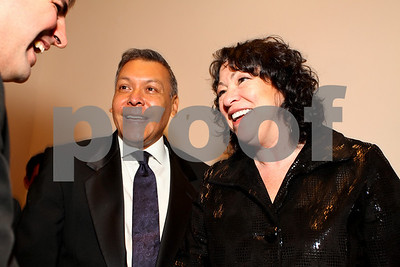 Felix Sanchez and Justice Sonia Sotomayor. 2009 Noche de Gala. Corcoran Gallery of Art. September 15 , 2009