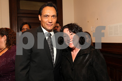 Jimmy Smits and Justice Sonia Sotomayor. 2009 Noche de Gala. Corcoran Gallery of Art. September 15 , 2009