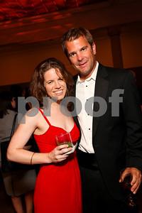 Amy Argetsinger and Todd Flournoy. 2009 Noche de Gala. Corcoran Gallery of Art. September 15 , 2009. photos by Tony Powell