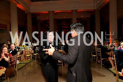 Justice Sonia Sotomayor and Esai Morales. 2009 Noche de Gala. Corcoran Gallery of Art. September 15 , 2009. Photos by Tony Powell.