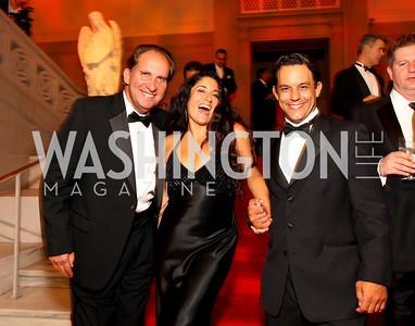 Don Grenough, Yvonne Delarosa, Henning Morales. 2009 Noche de Gala. Corcoran Gallery of Art. September 15 , 2009. Photos by Tony Powell.