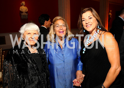 Deborah Szekely, Esther Coopersmith, Congresswoman Loretta Sanchez. 2009 Noche de Gala. Corcoran Gallery of Art. September 15 , 2009. Photos by Tony Powell.