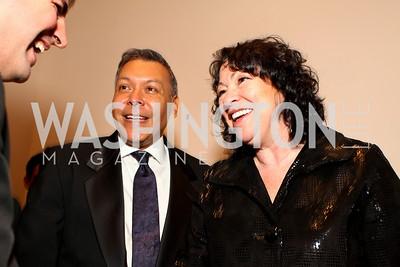 Felix Sanchez and Justice Sonia Sotomayor. 2009 Noche de Gala. Corcoran Gallery of Art. September 15 , 2009. Photos by Tony Powell.