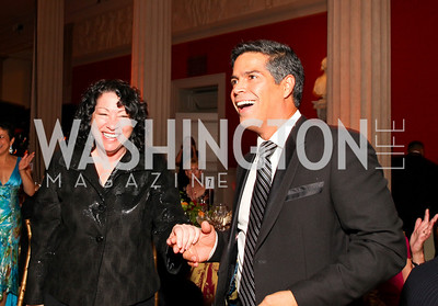 Justice Sonia Sotomayor and Esai Morales. 2009 Noche de Gala. Corcoran Gallery of Art. September 15 , 2009. Photos by Tony Powell.