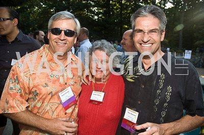 Brad Schwartz, Bobbie Kilberg, Peter Harrison, Photograph by Betsy Spruill Clarke