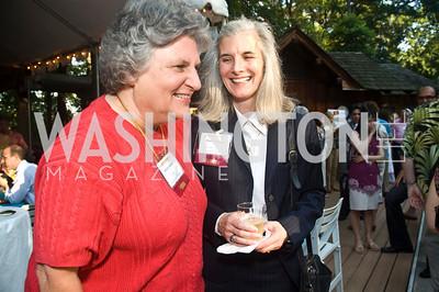 Bobbie Kilberg, Karen Manos, Photograph by Betsy Spruill Clarke