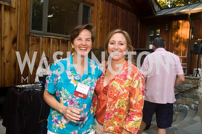 Kathy Clark, Christine Kallivokas, Photograph by Betsy Spruill Clarke