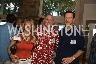 Karen Kelleher, Bill Kilberg,  Kevin Kelleher, Photograph by Betsy Spruill Clarke